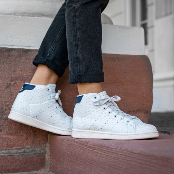 high top stan smith sneakers